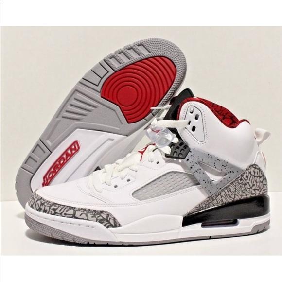 new arrival 99bc1 8f388 Nike Air Jordan Spizike WHITE VARSITY RED CEMENT. M 5b11eb8a0cb5aabb44a23e16